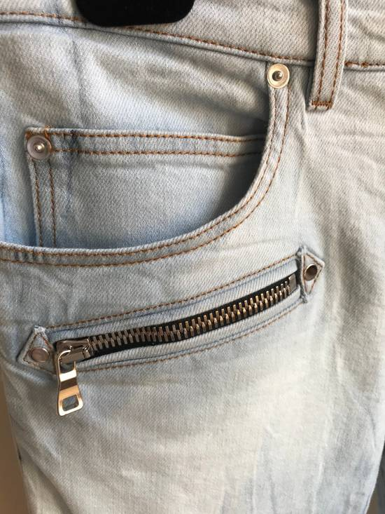 Balmain Biker Jeans SS18 Size US 36 / EU 52 - 2