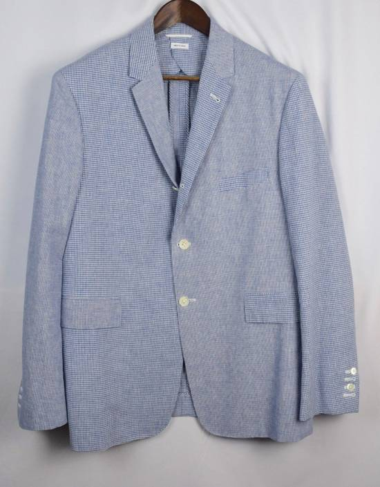Thom Browne Thom Browne Fun Mix Blazer Men's 4 New Blue Size 42L