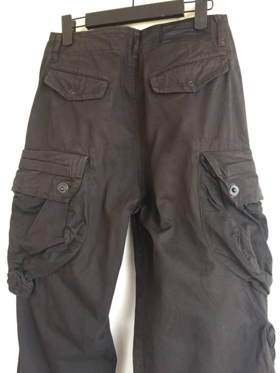 Julius Julius 09/SS Canon_1 The Possessed Gasmask Cargo Pants Size US 30 / EU 46 - 4