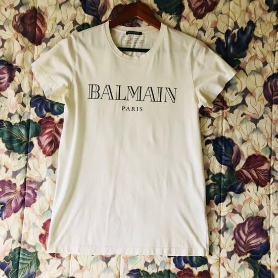 Balmain BALMAIN PARIS Vintage Logo T Shirt COMME DES VUITTON YSL Size US S / EU 44-46 / 1