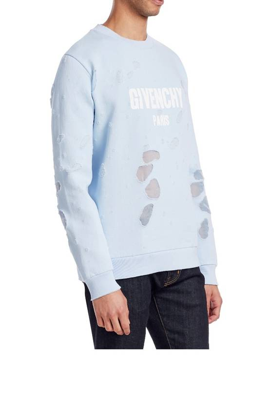 Givenchy Givenchy Distressed Logo Crewneck Size US M / EU 48-50 / 2 - 2