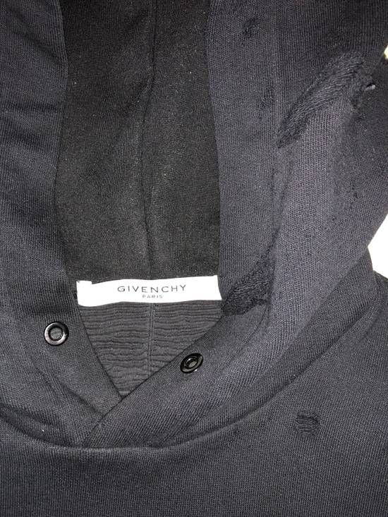 Givenchy Distressed Logo Print Hoodie Size US S / EU 44-46 / 1 - 6