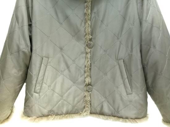 Balmain 🔥FINALDROP♨Reversible Balmain Paris Fur and Silk Jacket RARE Design Size US L / EU 52-54 / 3 - 8