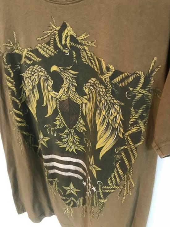Balmain Balmain Khaki American Eagle Crest T-Shirt Size US L / EU 52-54 / 3 - 2