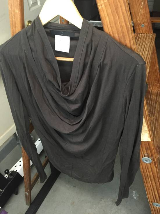 Julius AW07 Giza Cotton Drape Neck Longsleeve Size US S / EU 44-46 / 1 - 2