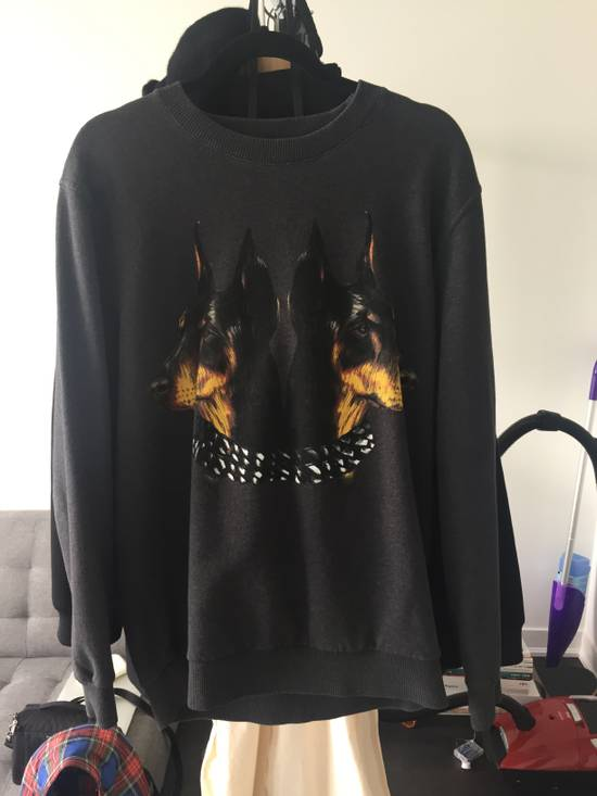 Givenchy LAST DROP Givenchy Doberman Sweater In Dark Grey F/W 13 Size US M / EU 48-50 / 2 - 1