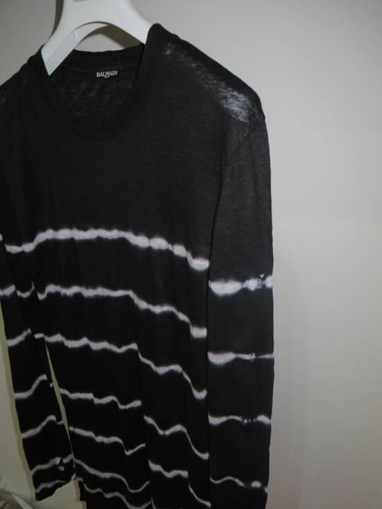 Balmain Tie-dye linen t-shirt Size US M / EU 48-50 / 2 - 3