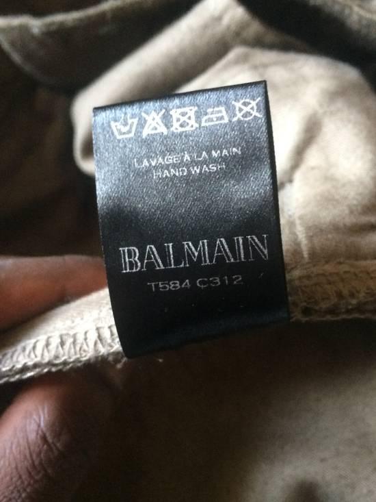 Balmain Balmain Jeans Suede/Leather texture effect Size US 31 - 3