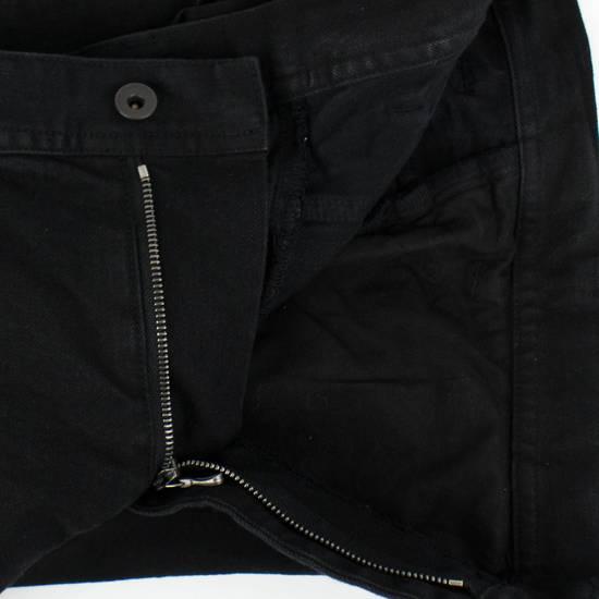 Julius 7 Black Cotton Blend 'Stretch Denim' Jeans Pants Size 4/L Size US 36 / EU 52 - 1