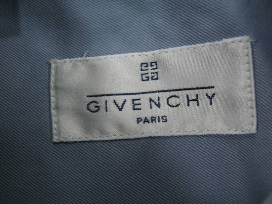 Givenchy Mens GIVENCHY PARIS Blue Cotton Casual Short Sleeve Shirt Size M 39 15.5 Rare Size US M / EU 48-50 / 2 - 6