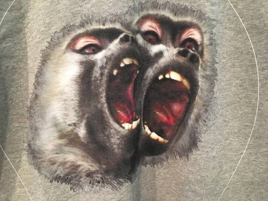 Givenchy Screaming Monkey Sweatshirt in Grey Size US M / EU 48-50 / 2 - 2