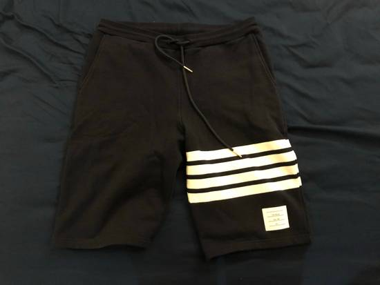 Thom Browne Blue four bars shorts Size US 32 / EU 48 - 2