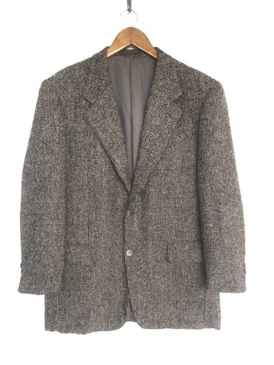 Balmain Tailored BALMAIN Blazer Italia Wool Woven by Ponzone Biellese Size 40R