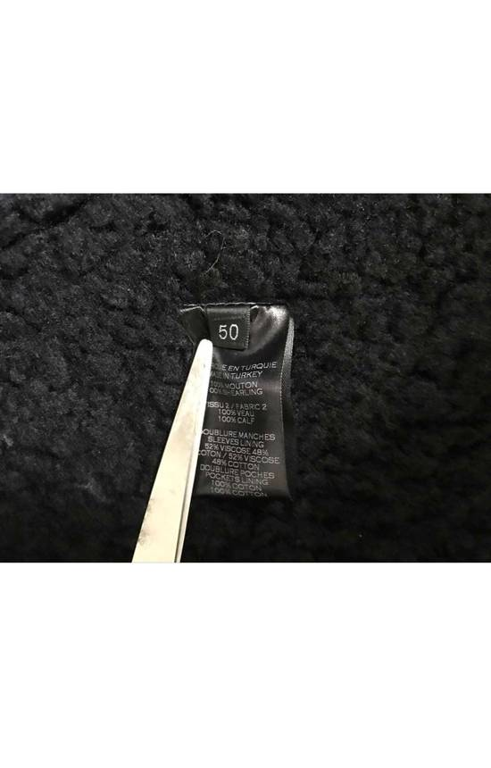 Balmain shearling leather biker jacket Size US M / EU 48-50 / 2 - 8