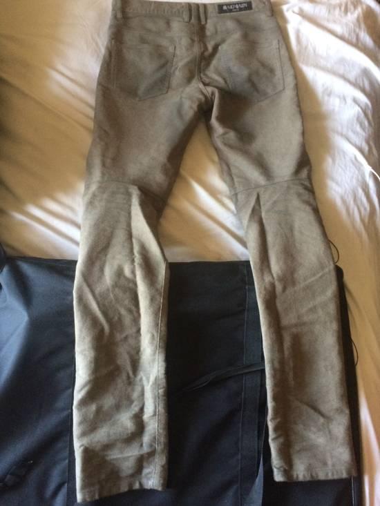 Balmain Balmain Jeans Suede/Leather texture effect Size US 31