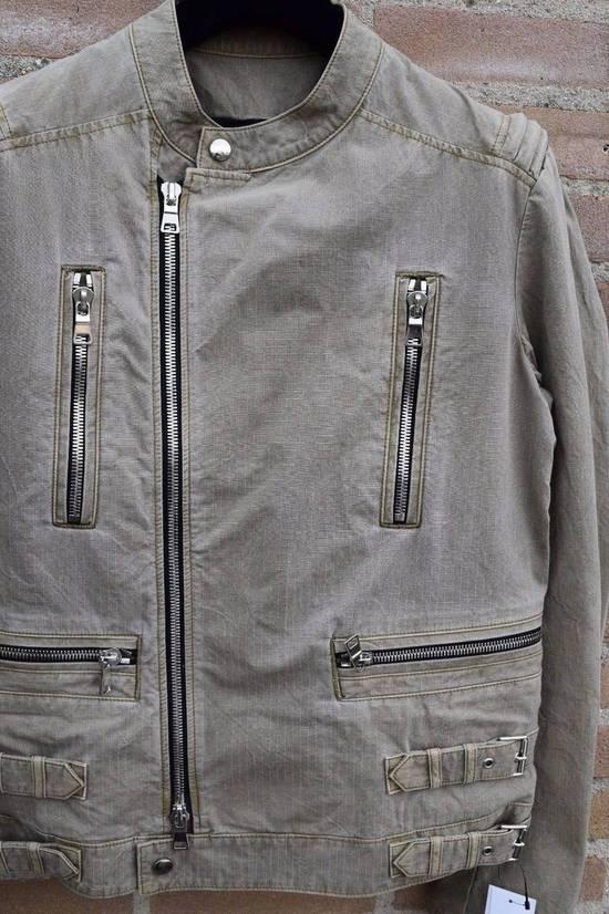 Balmain Balmain Authentic $1890 Cotton Biker Jacket Size L Brand New Condition Size US L / EU 52-54 / 3 - 1
