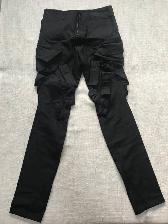 Julius SS15 Slim cargo gas mask pants Size US 31