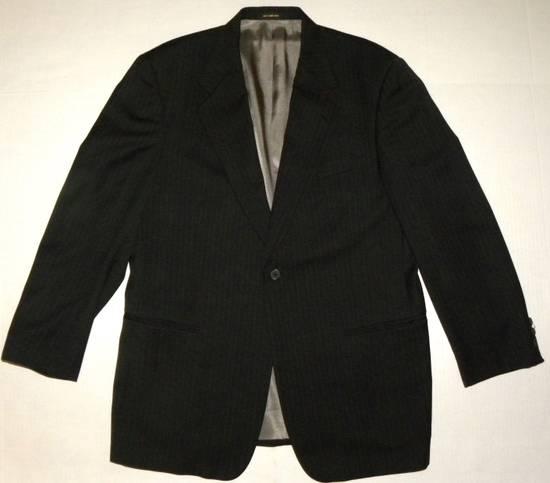 Givenchy Vintage Pin Striped Single Button Blazer Size 42R - 2