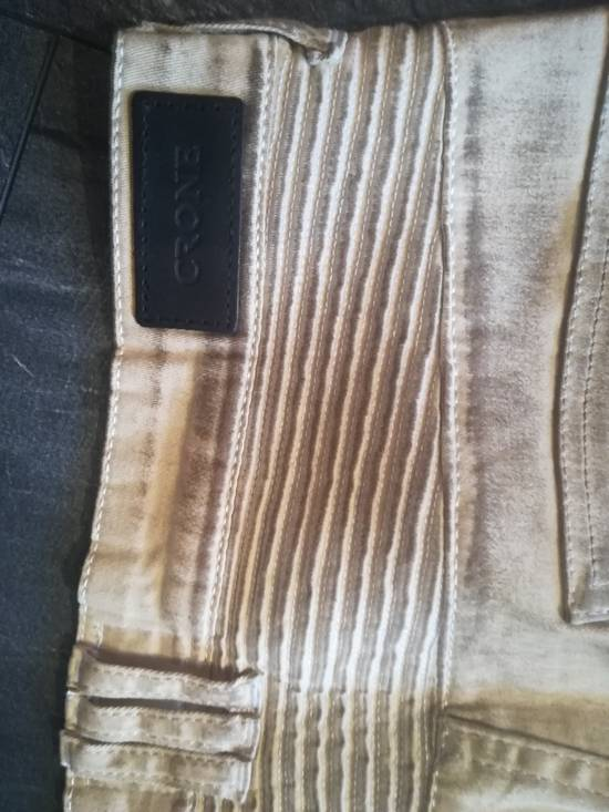 Balmain NOT Balmain Slim Fit Tan Biker Jeans Size US 32 / EU 48 - 4