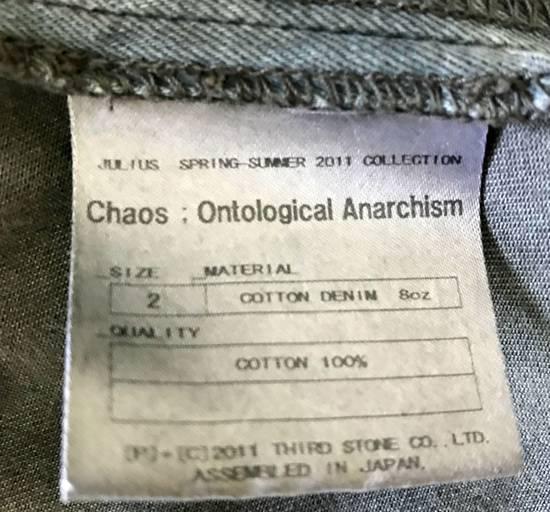 Julius Waxed distressed denim jacket Size US S / EU 44-46 / 1 - 5