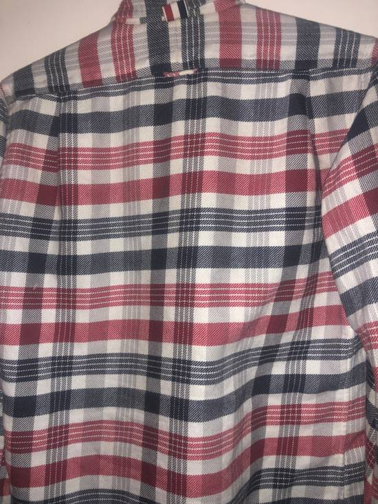 Thom Browne Long Sleeve Red White And Blue Shirt Size US S / EU 44-46 / 1 - 2