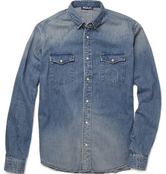 Balmain Denim balmain Shirt Size US XS / EU 42 / 0 - 6