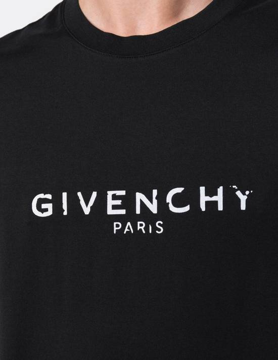 Givenchy Givenchy SS18 Blurred Logo Print T-Shirt Size US M / EU 48-50 / 2 - 2
