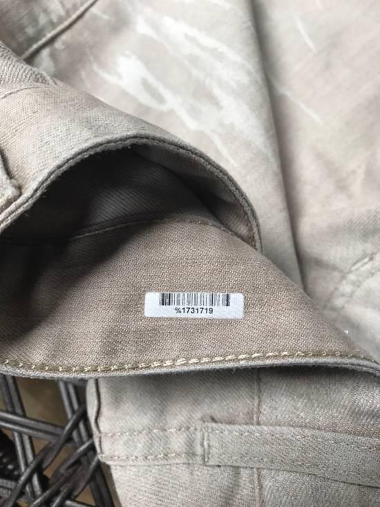 Balmain Balmain White Paint Wash Jeans Size US 29 - 4
