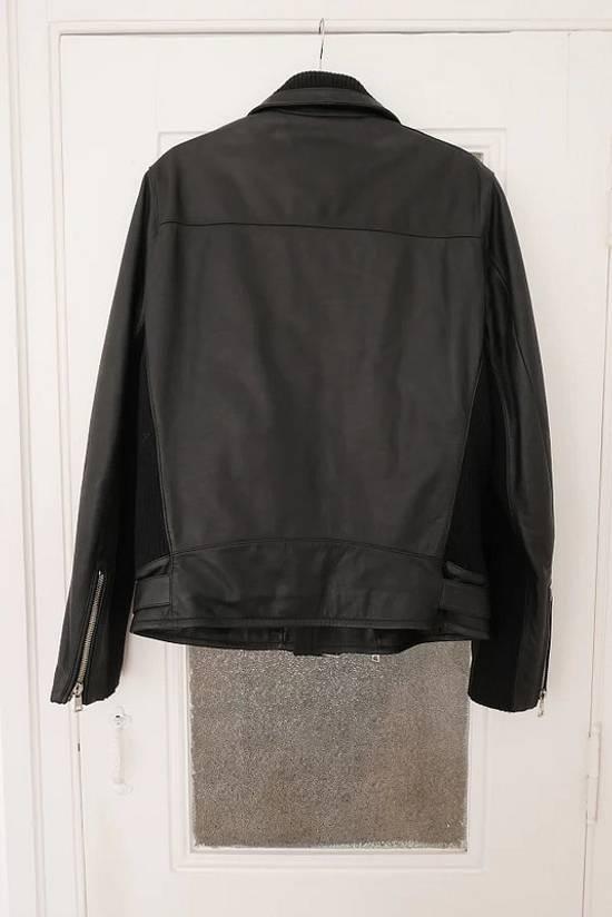Balmain AW15 black leather biker jacket Size US L / EU 52-54 / 3 - 5