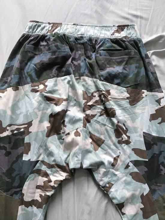 Givenchy Givenchy SS14 multi-camo drop-crotch sweatpants size L (fit 32-26) Size US 34 / EU 50 - 1