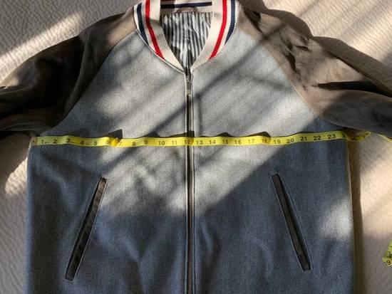 Thom Browne Cashmere & Suede Varsity Jacket Sz 4 Size US L / EU 52-54 / 3 - 8