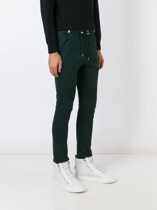 Balmain Balmain Green Sweatpants Size US 34 / EU 50 - 2