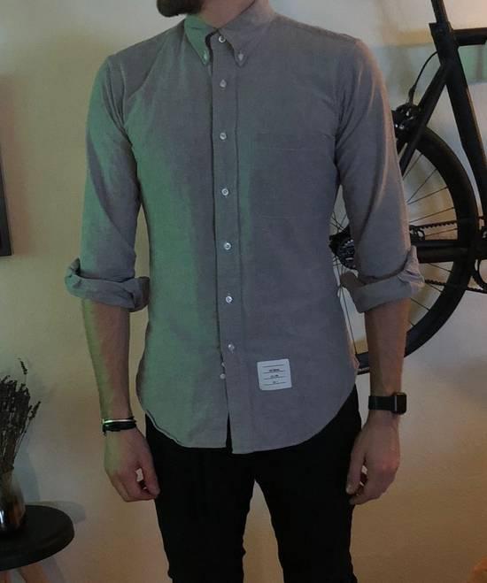 Thom Browne Oxford Classic Shirt Sz.2/M rare grey Size US M / EU 48-50 / 2 - 13