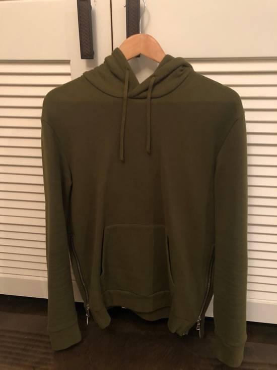 Balmain Balmain Side Zip Hoodie Olive Size US M / EU 48-50 / 2