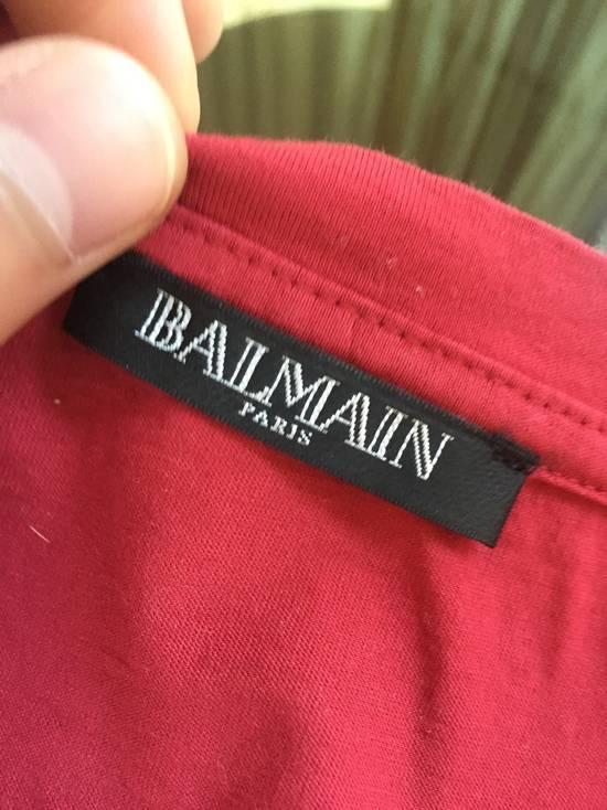 Balmain Button Shoulder Tee Size US M / EU 48-50 / 2 - 2