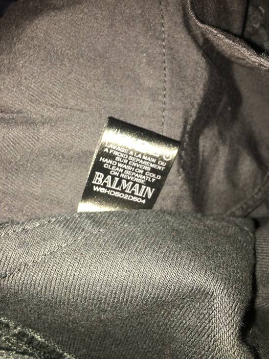 Balmain Black Denim Size US 32 / EU 48 - 2