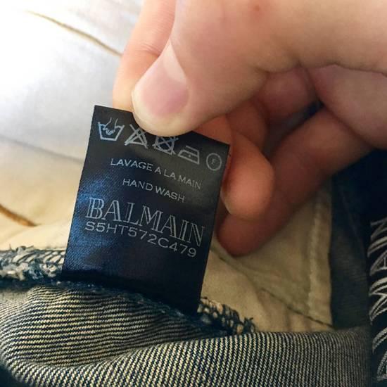 Balmain Rare SS 15 Balmian Biker jeans Size US 32 / EU 48 - 4