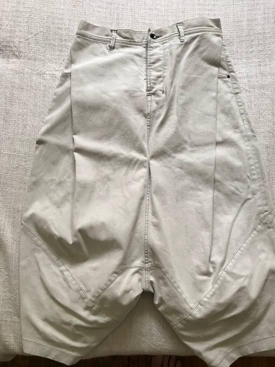 Julius AW14 painted low crotch denim cropped pants Size US 32 / EU 48 - 4