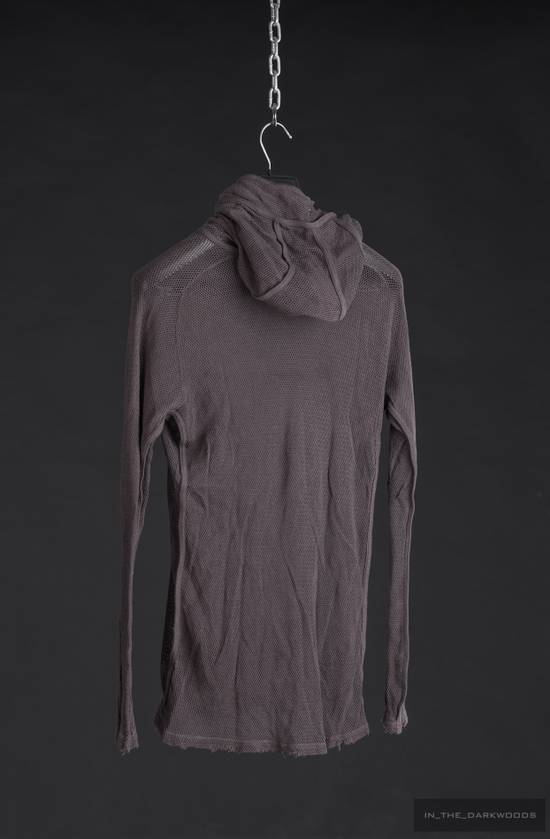 Julius = last drop = 2009SS mesh knit cotton hooded top Size US S / EU 44-46 / 1 - 6