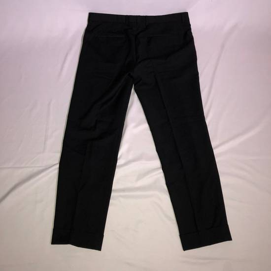 Givenchy Givenchy Cuffed Wool Uniform Pants Size US 36 / EU 52 - 1