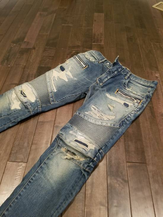 Balmain Distressed denim Size US 33 - 2