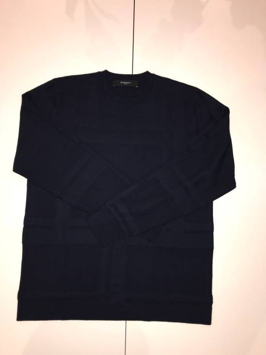 Givenchy Givenchy Sweater In Navy Blue Size US L / EU 52-54 / 3 - 1