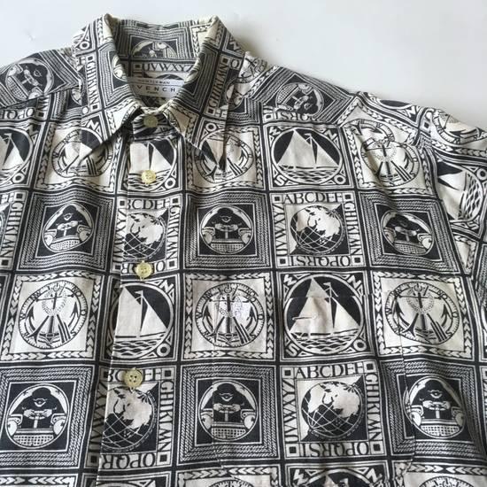 Givenchy Last Drop Before Delete!!! Vintage Givenchy Print Shirt Size US M / EU 48-50 / 2 - 1