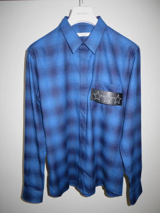 Givenchy Embroidered flannel shirt Size US XL / EU 56 / 4