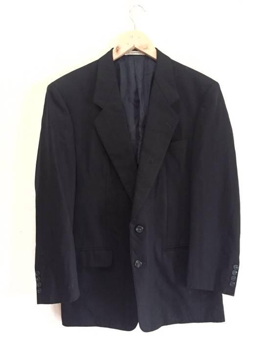 Givenchy Vintage Givenchy Monsieur Black Blazer Size 40L