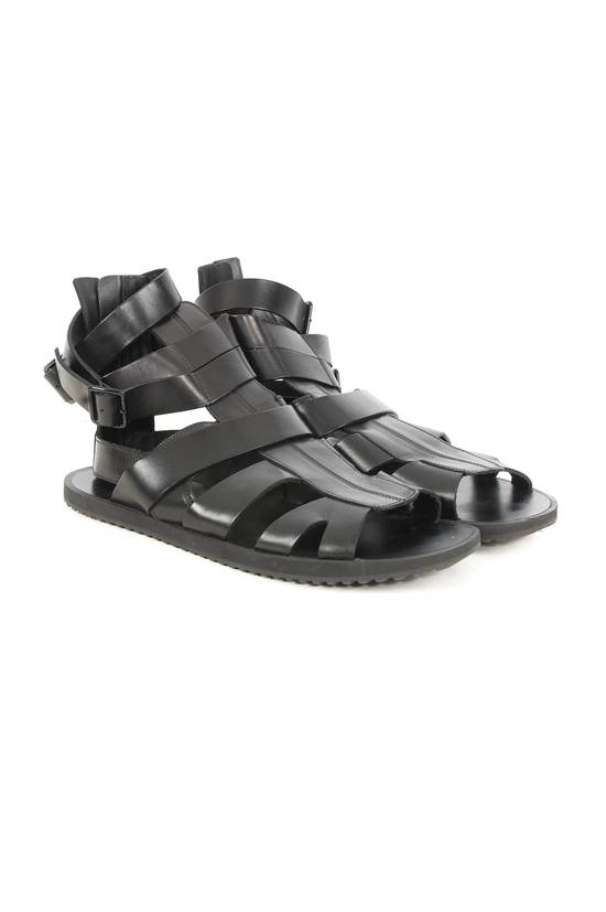 Givenchy Givenchy Black Leather Gladiator Sandals Size US 11 / EU 44