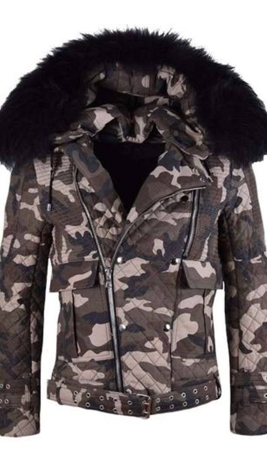 Balmain Raccoon Fur Hooded Jacket Size US M / EU 48-50 / 2 - 5
