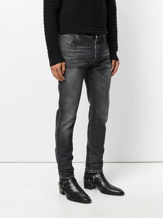Balmain Black Stonewashed Jeans Size US 30 / EU 46 - 2