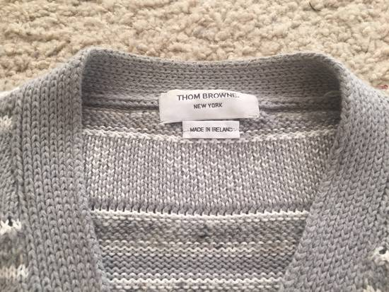 Thom Browne Gray Sweater Size 4 $650 Size US XL / EU 56 / 4 - 1