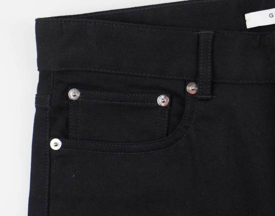 Givenchy Black Cotton Blend Denim Jeans Pants Size US 30 / EU 46 - 3